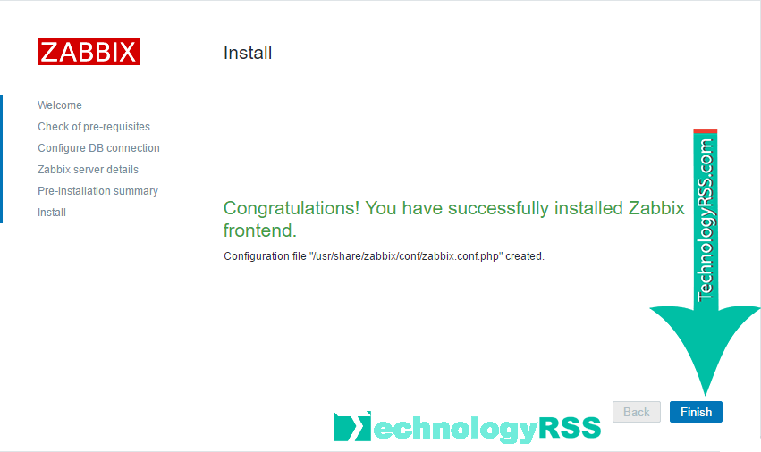 install-zabbix-server-step