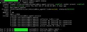 zabbix-agent-status