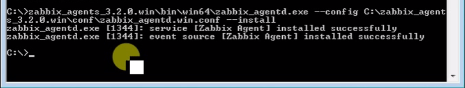 zabbix-agent-on-windows