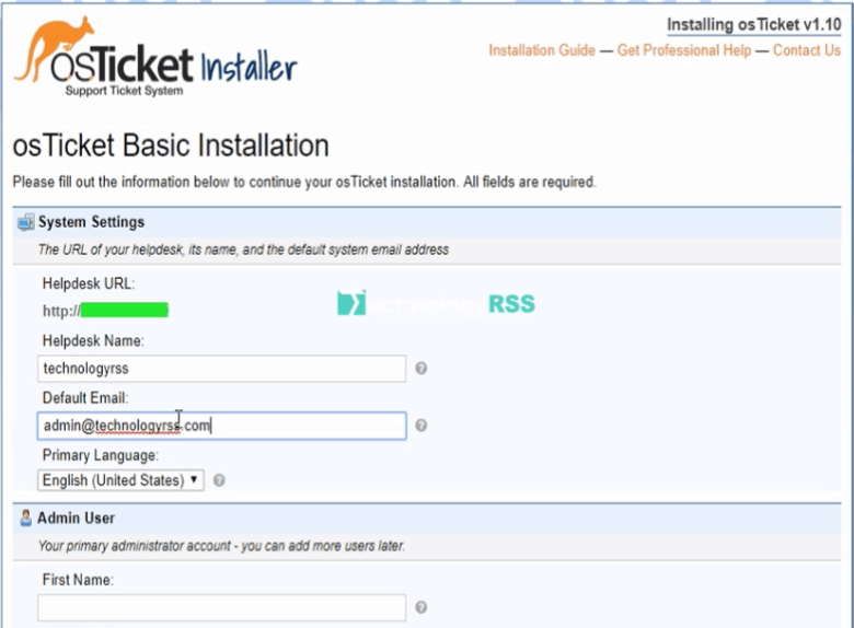 How To Install OsTicket On Ubuntu 16 04 - TechnologyRSS