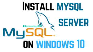 install-mysql-windows