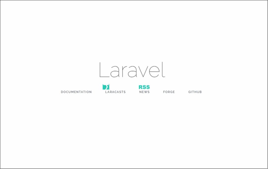 laravel-default-page